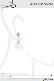 RhinotriX: Desenho do dia - brinco geometrico 50112
