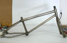 1985 Excaliber Mini Ti Excaliber made a small number of frames/forks in the mid 1980's, this is one of them. This mini has a 100% Titanium frame and fork.