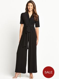 Savoir Long Sleeved Jumpsuit | very.co.uk