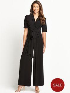 Savoir Long Sleeved Jumpsuit   very.co.uk