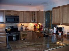 Interior: Antique Backsplash Ideas For Black Granite Countertops And Maple Cabinets Also Images Of Black Granite Countertops With White Cabinets from 4 Tips In Choosing Black Granite Countertops