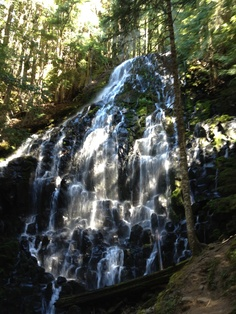 ramona falls mt hood national forrest Ramona Falls, Climbing, Waterfall, Hiking, Outdoor, Walks, Outdoors, Mountaineering, Waterfalls