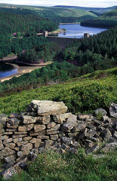Howden Reservoir looking back down Abbey Bank towards Howden Reservoir, Upper Derwent Valley, England by Derwent Valley, Over The Hill, Peak District, Where The Heart Is, United Kingdom, England, River, Spaces, Adventure