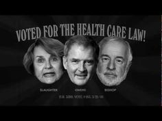 """""""Repeal - New York"""" from American Action Network opposes Rep.s Bill Owens (D-N.Y.), Tim Bishop (D-N.Y.) and Louise Slaughter (D-N.Y.) for supporting Obama's health care reform. 7/9/12"""