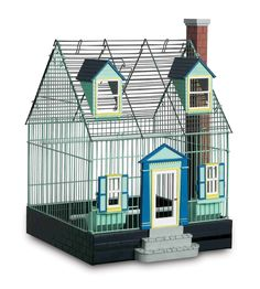Prevue Pet Products Featherstone Heights Cape Cod Bird Cage 290  Proudly made in the USA!