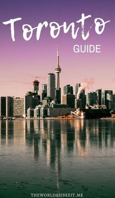 Toronto Guide to the Best of the City - There's something to do in Toronto for everyone! From the great outdoors to fun adventures this guide has it all! canada Toronto Guide to the Best of the City Ontario Travel, Toronto Travel, Montreal, Vancouver, Travel Guides, Travel Tips, Travel Destinations, Quebec, Calgary