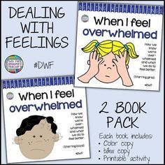 The 'When I Feel Overwhelmed' Stories Reassure Young Students And Model Strategies For Managing Stress Or The Feeling Of Being Overloaded At School. Navigate For More Information Social Skills Activities, Teaching Activities, Teaching Kids, Teaching Resources, Classroom Resources, Learning Skills, I Feel Overwhelmed, Kindergarten Lesson Plans, Kindergarten Themes