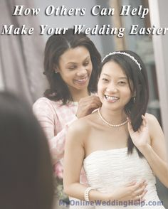 Tips for working with vendors, family, friends, etc. to make your wedding easier and less stressful.