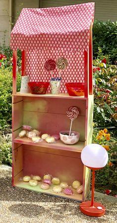 bar à bonbon à fabriquer en bois fête anniversaire Bar A Bonbon, Blog Deco, Popcorn Maker, Parenting, Furniture, Home Decor, Towel Paper, Home Made Candy, Home Made