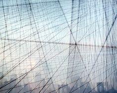 the cage: nyc photography. brooklyn bridge photo. fine art photograph. geometric art. nyc art. surreal photography. multiple exposure photo. on Etsy, $20.00