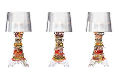 Kartell iconic Bourgie lamp by Ferruccio Laviani - Visit the website to see all pics http://wantedarchi.com/kartell-iconic-bourgie-lamp-ferruccio-laviani/