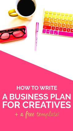HOW to write a business plan to achieve your blog + biz goals and WHY it's so important! (Plus a FREE template!)