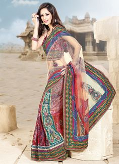 Gorgeous Net Lehenga Saree