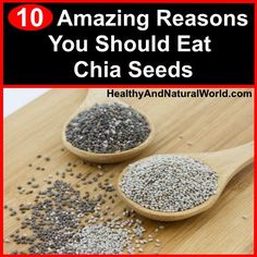 10 Amazing Reaosns You Should Eat Chia Seeds
