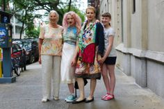 "I asked grandma if her mother was colorful as well. ""Nope,"" she said. ""It started with me."" 