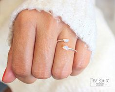 Opal Rings for Women,Opal Ring,Opal Ring Gold,Opal Ring Sterling Silver,Opal Rose Gold Ring  Two tiny white opal stones, are the centerpiece of this