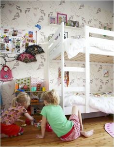 the boo and the boy: bunkbeds