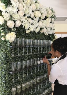 Add some fizz to your event, why not hire our Prosecco wall for your event Flower Wall Wedding, Wedding Wall, Diy Wedding, Fall Wedding, Wedding Ceremony, Wedding Flowers, Wedding Venues, Dream Wedding, Wedding Props