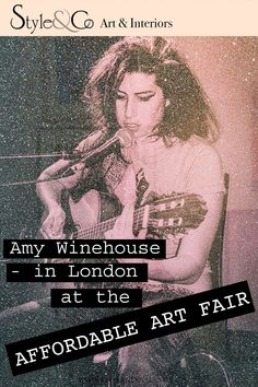Just what is Affordable Art? We took a trip to The 'Affordable Art Fair' in Battersea to find out. Interior Blogs, Affordable Art Fair, Amy Winehouse, Home Art, Screen Printing, Print Poster, Contemporary Art, How To Find Out, Art Gallery