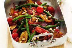 and roast vegetable salad, Roasted Vegetable and Pearl Pasta Salad, salad roasted vegetables. Vegetable Salad Ingredients, Grilled Vegetable Salads, Roasted Vegetable Salad, Vegetable Salad Recipes, Grilled Vegetables, Veggies, Root Vegetables, Dinner Recipes For Kids, Healthy Dinner Recipes