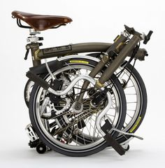 Brompton / Raw Lacquer / Brooks Saddle