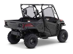 New 2016 Honda Pioneer™ 1000 EPS ATVs For Sale in California. Not Just Bigger: Better. The outdoors is meant to be explored. The highest hills, the deepest canyons, and the farthest reaches of the forests all lie in wait. And now, we bring you an entirely new vehicle that can get you there. The all-new Pioneer 1000 is the world's preeminent side-by-side, both in the Honda lineup, and the industry. Built around a class-leading 999 cc twin-cylinder engine, it can haul up to 1,000 pounds and…
