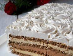 Rasfata-te cu un tort inedit de nuca si crema de cafea, cappuccino si frisca