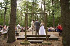 Camp Wing Wedding - Munroe Ceremony