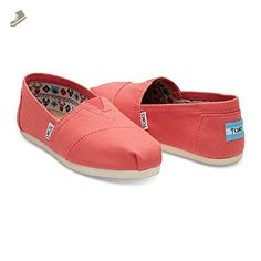f2a7ac724a1 Tom s Women s Classic Canvas Slip-on (5.5 B(M) US