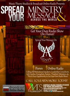 Spread Your Message on the Radio!!!