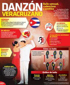 En el marco de la XVIII Muestra Nacional de Danzón, que se realiza en Veracruz, te presentamos los orígenes y características de este baile,el cual está muy arraigado en nuestra cultura. #Infographic