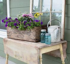 diy clean draining planter box, container gardening, diy, gardening, how to