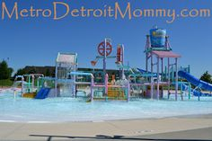 29 Metro Detroit Michigan Outdoor Splash Pads, pools and waterparks