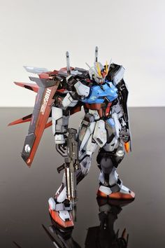 GUNDAM GUY: MG 1/100 GAT-105 Aile Strike Gundam Ver. RM - Painted Build