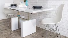 DIANA White/Black/Oak available in Matt & Gloss Extendable Dining/Coffee Table Coffee Table To Dining Table, Diana, Amp, Ebay, Furniture, Black, Home Decor, Decoration Home, Black People