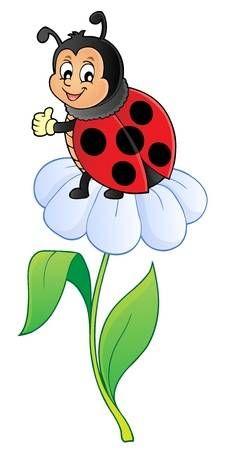 Art Drawings For Kids, Disney Drawings, Drawing For Kids, Cartoon Drawings, Easy Drawings, Ladybug Art, Ladybug Crafts, Ladybug Coloring Page, Cartoon Caracters
