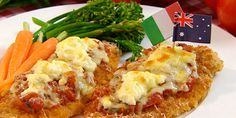 Chicken parmagiana - Julie's recipes