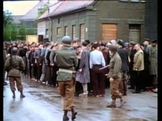 World War Two: The End 1945. Documentary film in color; recently discovered reels.