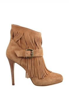 Guess Callica Fringed Booties