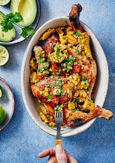 El pollo loco eli meksikolainen broileri   Kana   Soppa365 Couscous, Paella, Vegetable Pizza, Guacamole, Pesto, Quiche, Risotto, Yummy Food, Vegetables