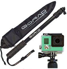 GoRad Gear Waterproof Selfie Stick for GoPro Hero Cameras Gopro Pole, Best Selfies, Gopro Camera, Photo Printer, Plus 8, Selfie Stick, Gopro Hero, Digital Camera, Outdoor Power Equipment