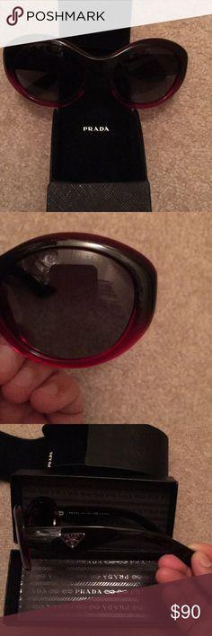 Sunglasses PRADA NWOT NWOT Ombre sunglasses PRADA Prada Accessories Sunglasses
