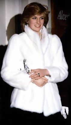 Diana wrapped in luxury!
