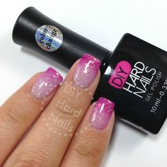 Pink Frost Color Changing Gel - #1 most loved (often sold out) gel polish. Every girl wants this gorgeous color changing gel! www.DIYHardNails.com