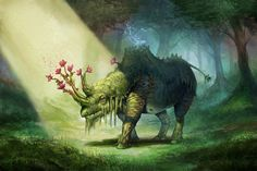 Magical animals Fantasy creature wallpaper | 1920x1282 | 100628 ...