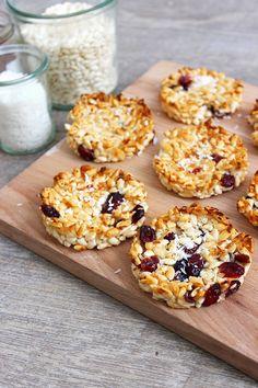 Blog Cuisine & DIY Bordeaux - Bonjour Darling - Anne-Laure: Galette riz soufflé coco & cranberries