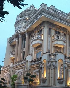 Best Exterior Building Design Architecture Dream Homes 54 Ideas Classic House Exterior, Classic House Design, Dream House Exterior, Modern House Design, Villa Design, Facade Design, Exterior Design, Neoclassical Architecture, Classic Architecture