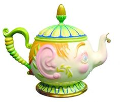 "Lomonosov Decorative teapot ""Nutcracker"" Porcelain Bone China hand Painted from St. Petersburg, Russia"