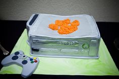 Clemson X-box groom's cake