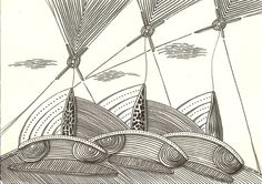 """wind energy"",india ink on paper ,30 x 21 cm, ©matthias hennig 2013 #hennigdesign #hennig #design #wind #energy"